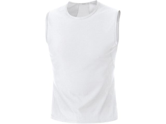 GORE WEAR M Base Layer Sleevless Shirt Men white